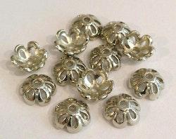Antikfärgade pärlhattar 10 mm, 20 st