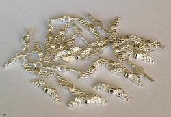 Silverfärgade änglavingar mini, ca 100 st