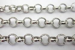 Rostfritt stål, ärtlänk 4 mm, 1 m