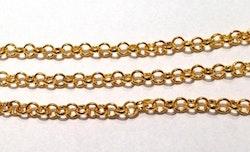 Guldfärgad ärtlänk 4 mm, 1 m