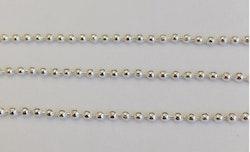 Silverfärgad kulkedja 2.3 mm, 1 m