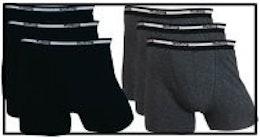 Pojkboxer Med elastan, 3-pack