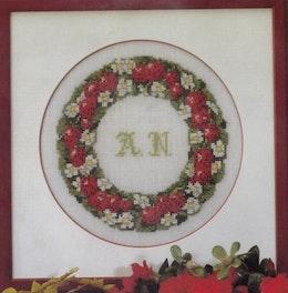 Blomstertavla  26x26 cm