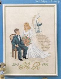 Bröllopstavla 30x41cm