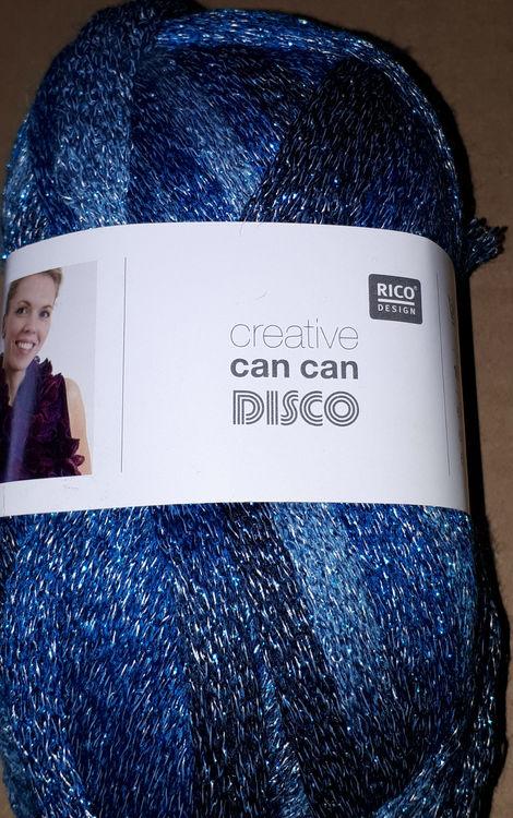 CanCan Disco Blå / Metall