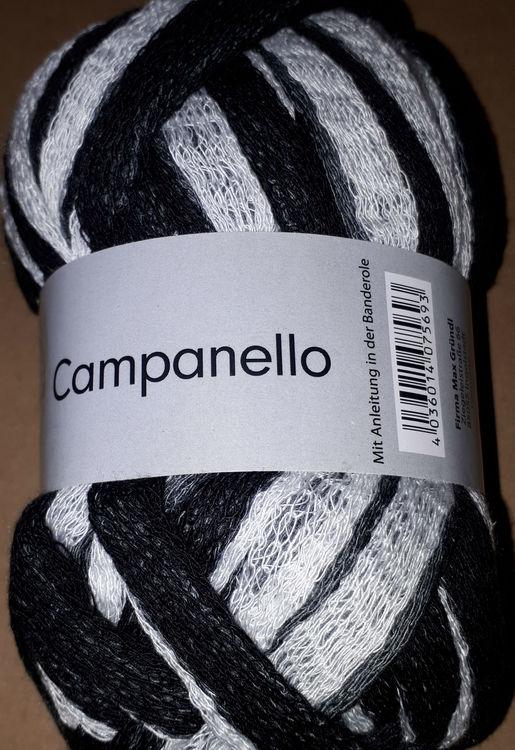 Svart/Vit Campanello