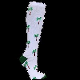 Stödstrumpa Palm Vit
