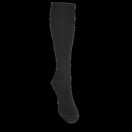 Medicinsk stödstrumpa, svart. StrumpBoden