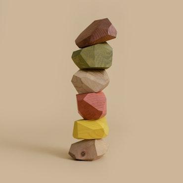 Pastel Balancing Stones