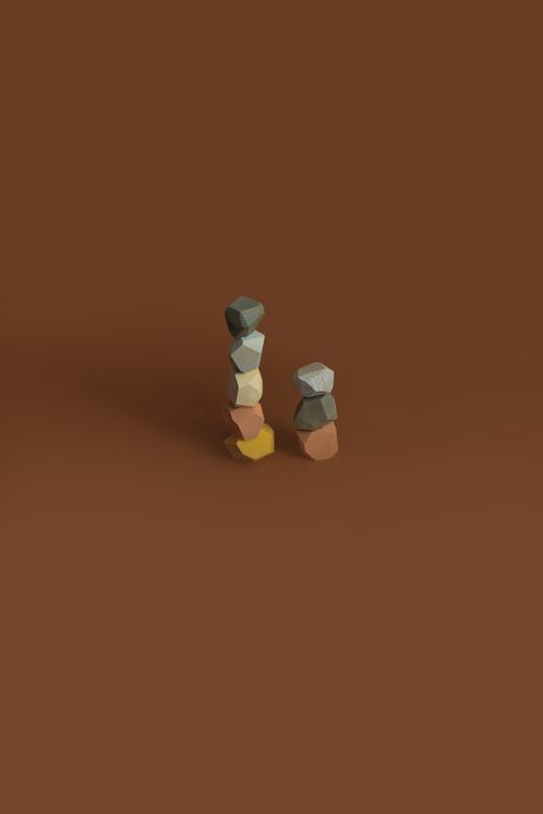 Earthy Balancing Stones