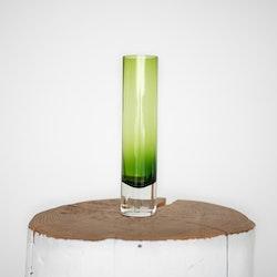 Grønn glassvase