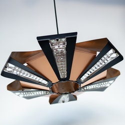 Werner Schou for Coronell retro lampe