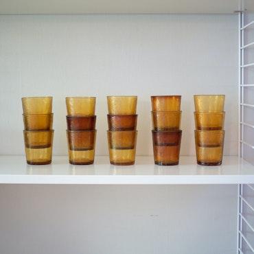 Ravfargede glass fra Arcoroc Sierra