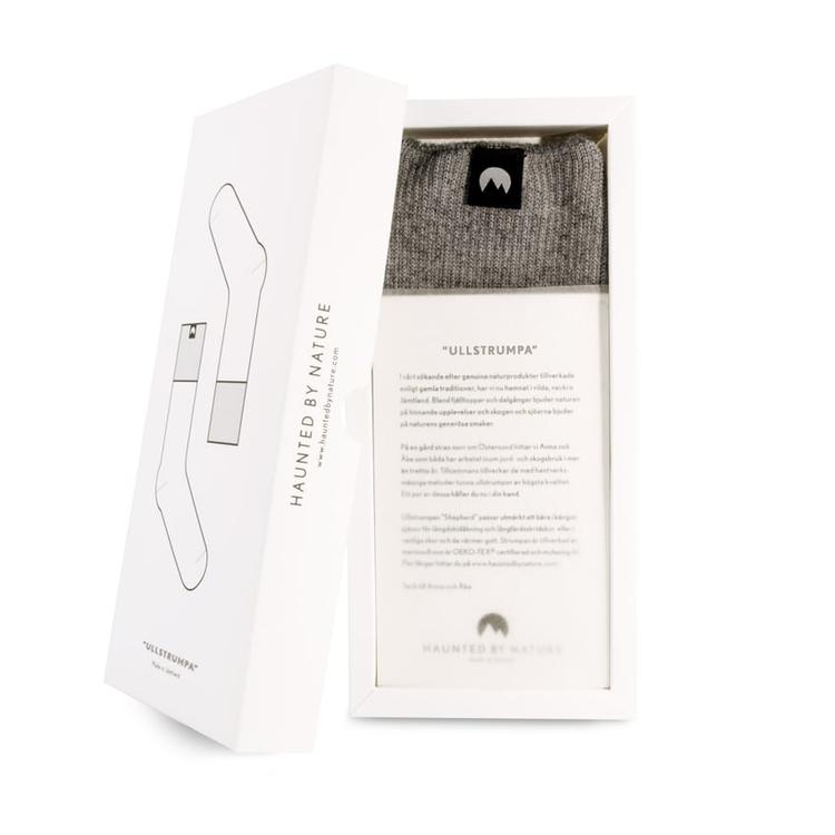 Ullstrumpa – Foggy Gray
