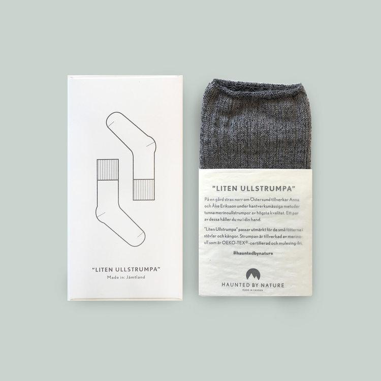 Liten Ullstrumpa – Foggy Gray