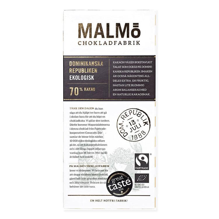 "Malmö Choklad ""Dominikanska Republiken"""