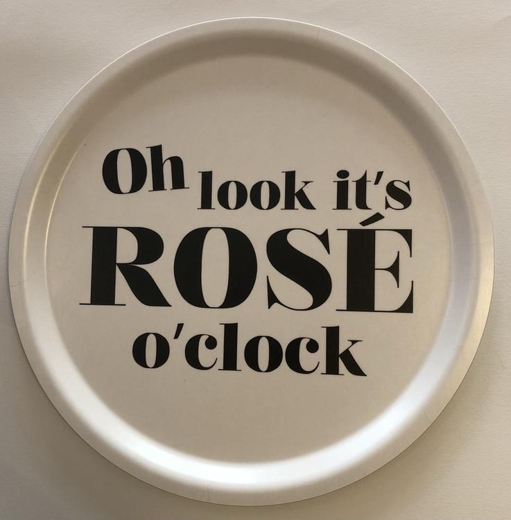 """Bricka """"Rosé O'Clock"""""""