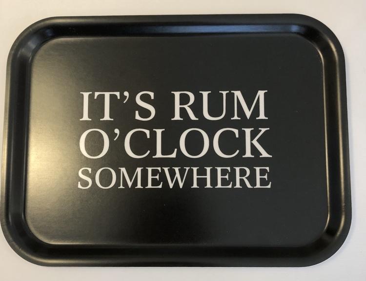 "Bricka ""It's Rum O'Clock Somewhere"""