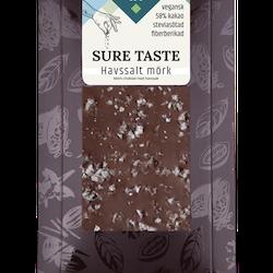 """Chokladkaka """"Havssalt Mörk Choklad"""" utan tillsatt socker"""