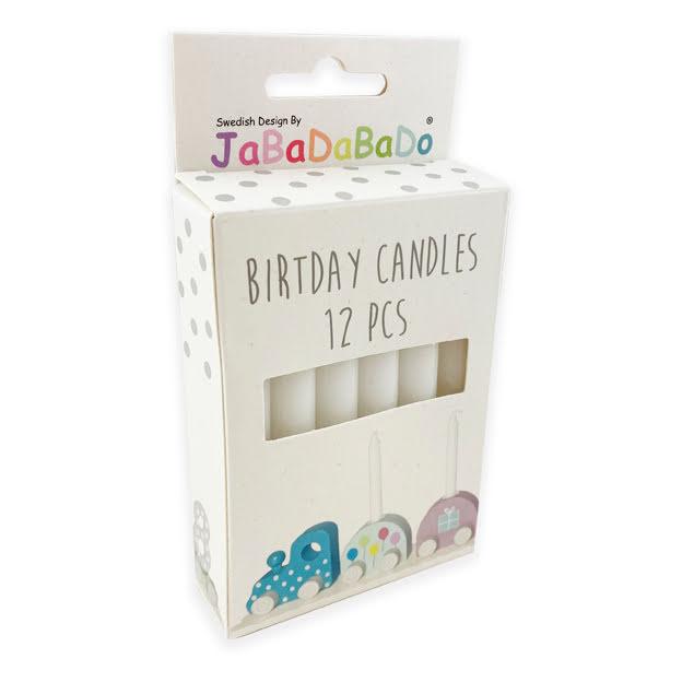 Ljus till födelsedagståg