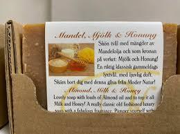 """Naturtvål """"Mandel, mjölk och honung"""""""