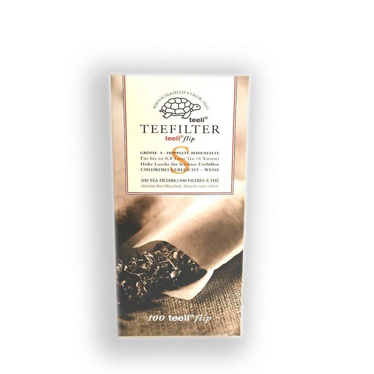 Tefilter, engångs 100-pack