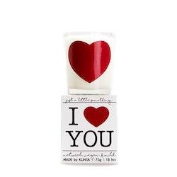 """Doftljus """"I Love You"""""""