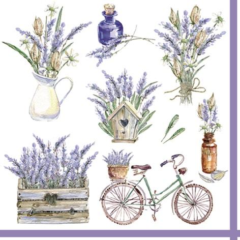"""Servett """"Lavendel"""""""