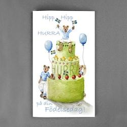 Hipp hipp hurra på din födelsedag
