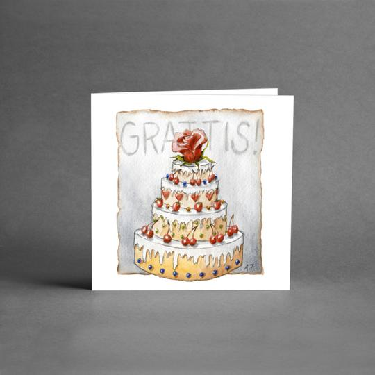 Grattis (tårta)