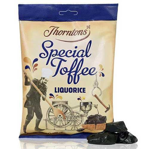 Thornton's lakrits toffee