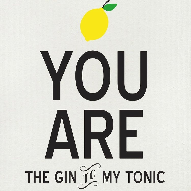 """Disktrasa """"You are the gin to my tonic"""""""
