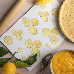 """Skärbräda """"Lemon"""""""