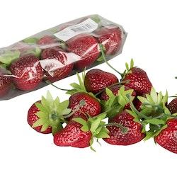 Konstgjorda jordgubbar 10-pack