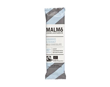 "Malmö Choklad Bar ""Lakrits & Havssalt"""