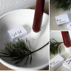 """Tändsticksask """"God Jul"""""""