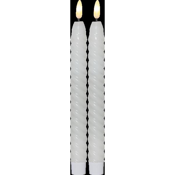 Twistat antikljus 2-pack med timer