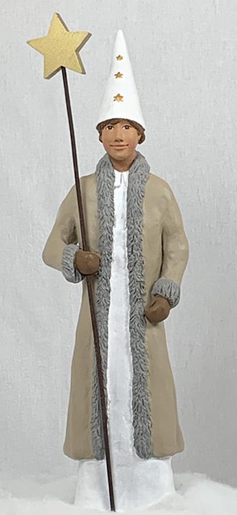 Stjärngosse Stefan, stor - 40 cm