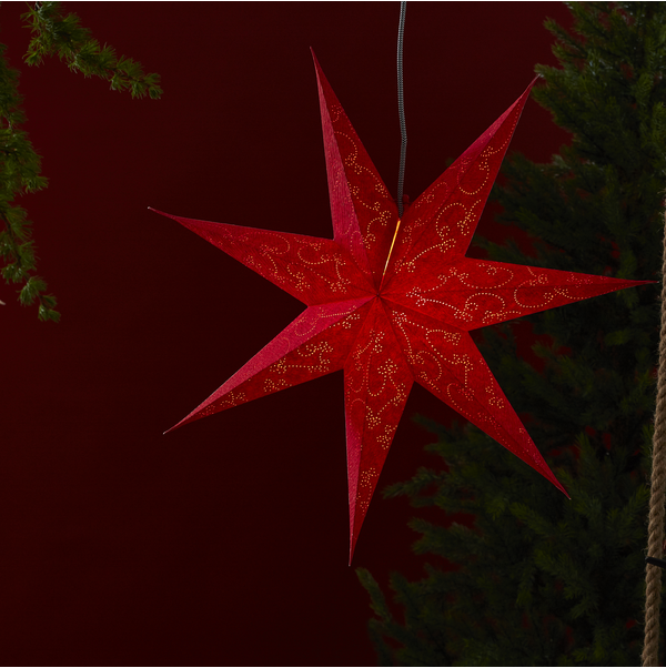 Pappersstjärna Decorus stor