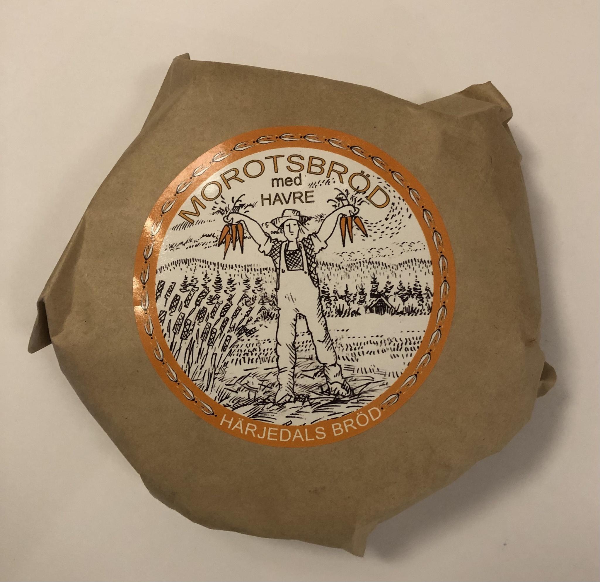 Morotsbröd med havre