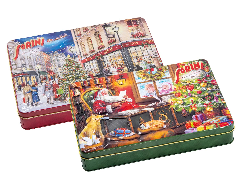 Chokladkartong Christmas Time