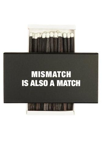 Fyrstikkeske - Mismatch is also a match