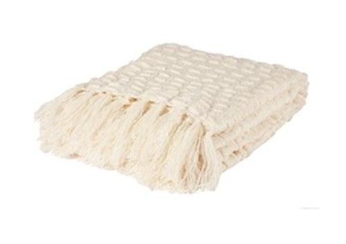 Maisie Plaid Blanc