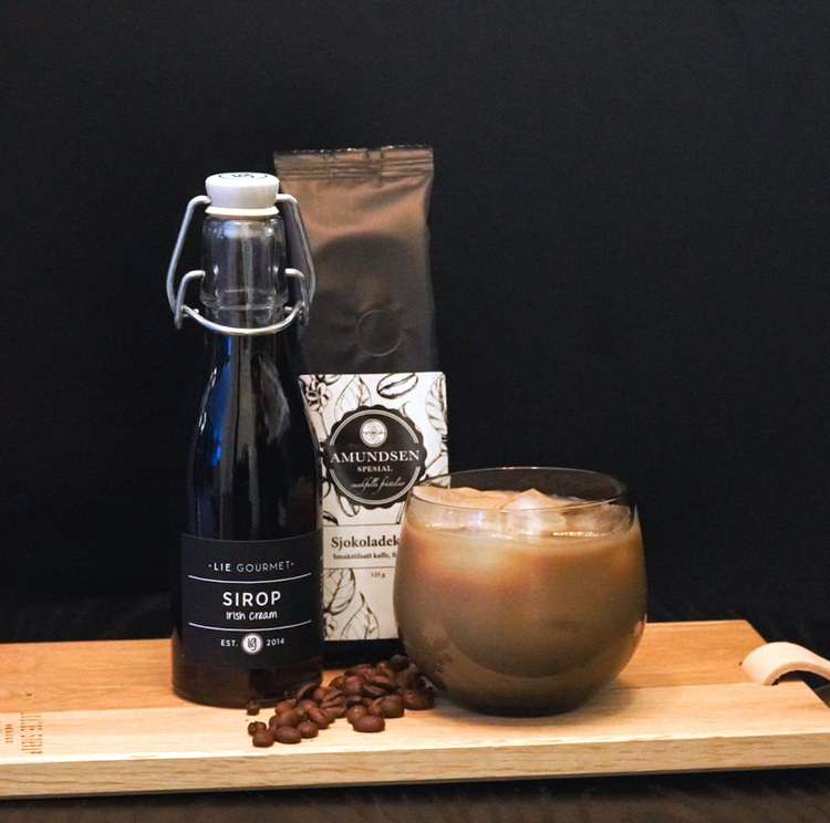 Lie Gourmet Irish Cream syrup