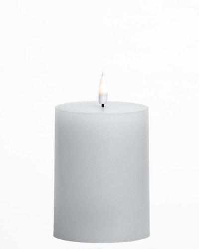 LED-lys Kubbe 7,5 x 9 cm Hvit