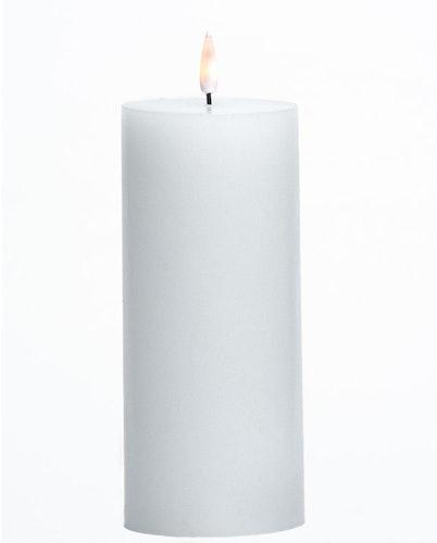 LED-lys Kubbe 7,5 x 16,5 cm Hvit