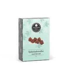 Sjokoladetrøfler med Havsalt