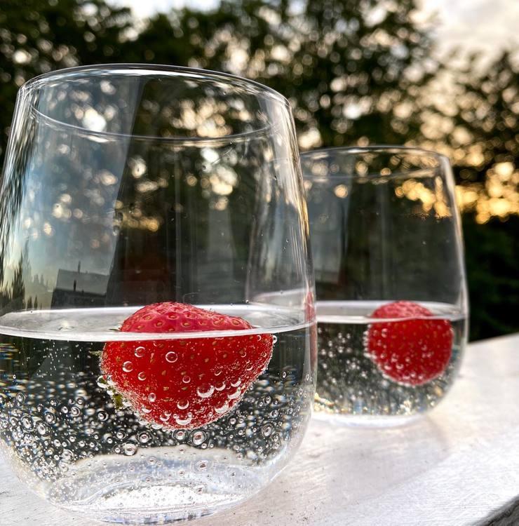 Vannglass Bubbles