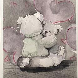Heartwarming hug