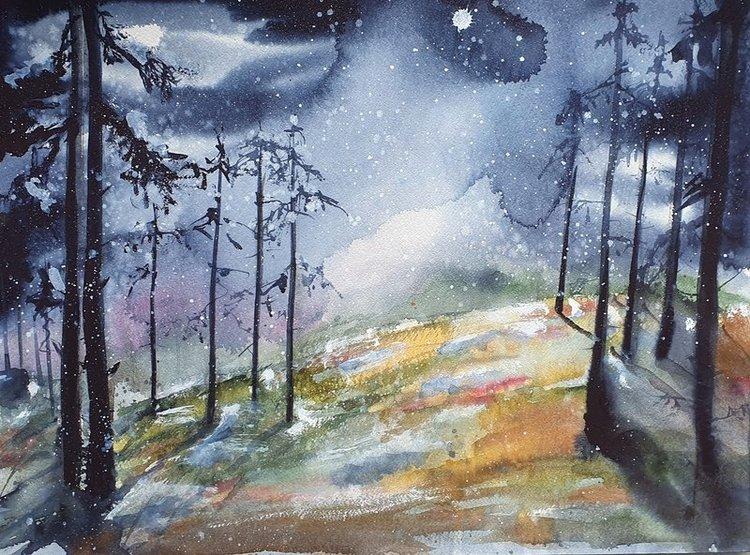 Första snön